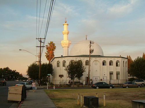 Masjid Fresno at Sunset
