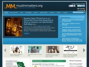 MuslimMatters.org screenshot